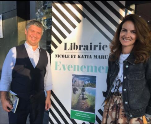 Soirée Dédicace Librairie Maruani Mme Katia Maruani2